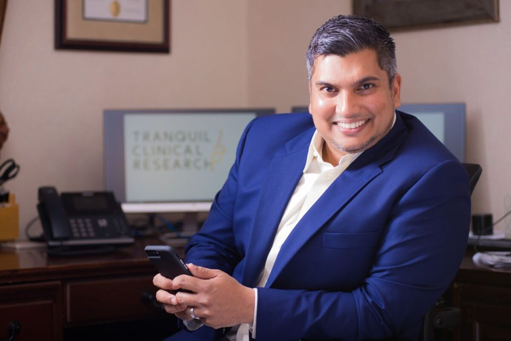 KARIM MOHAMMED Chief Executive Officer Tranquil Clinical and Research Consulting Services
